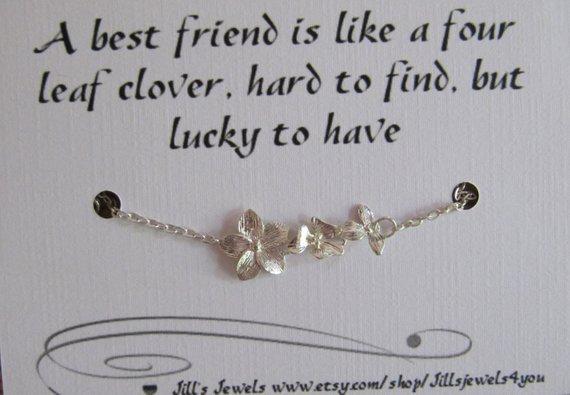 Friendship Orchid Bracelet