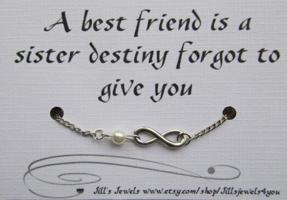 A Best Friend Is A Sister Destiny Bracelet