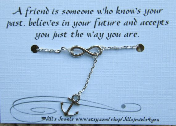 Infinity and Anchor Charm Anklet