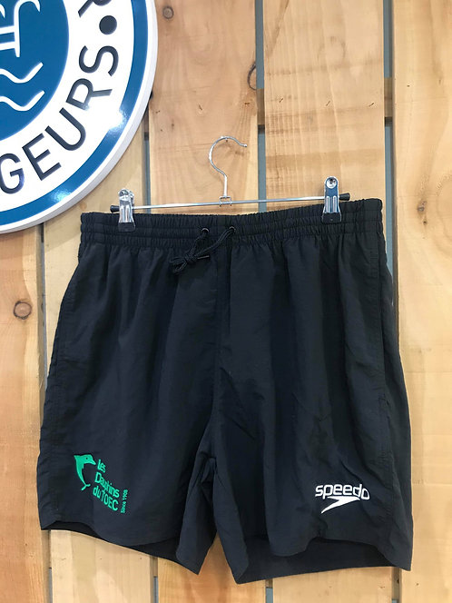 SHORT DE SPORT TOEC NOIR JUNIOR