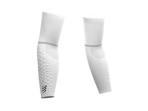 MANCHETTE BRAS DE COMPRESSION ARMFORCE ULTRALIGHT - COMPRESSPORT - BLANC