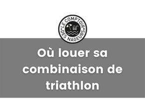 Où louer sa combinaison de triathlon à Toulouse ?