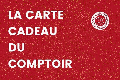 CARTE CADEAU DU COMPTOIR