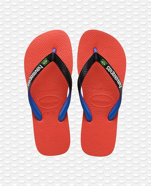 TONGS BRASIL MIX ROUGE - HAVAIANAS