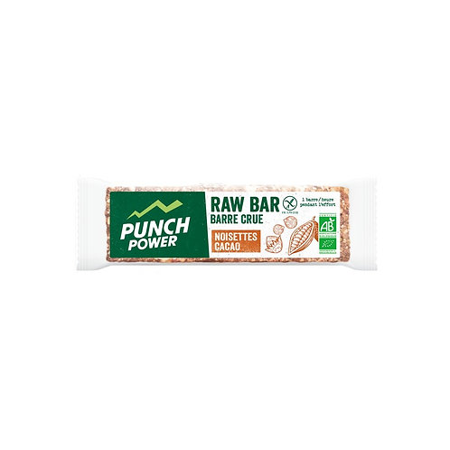 RAW BAR -  NOISETTES CACAO PUNCH POWER