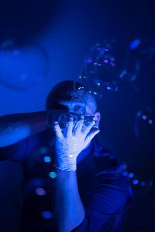 Spettacolo bolle di sapone napoli