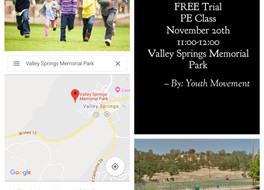 FREE Trial PE Class in Valley Springs
