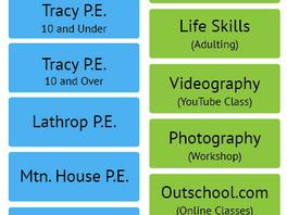 2019-2020 Class List