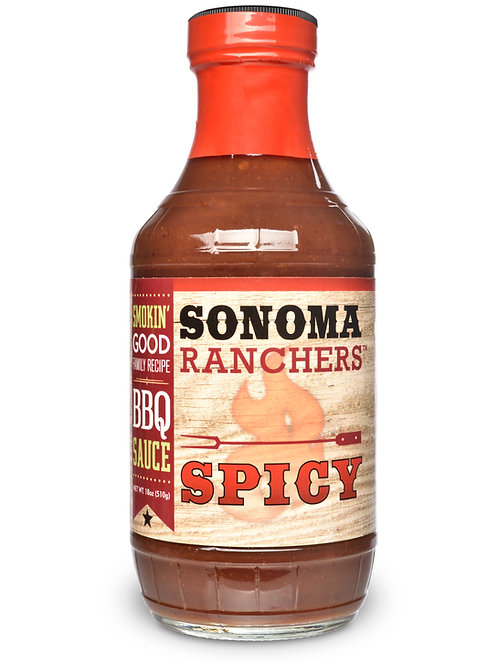 Sonoma Ranchers Spicy BBQ Sauce