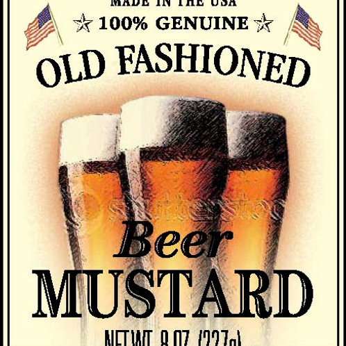 Shemp's Beer Mustard