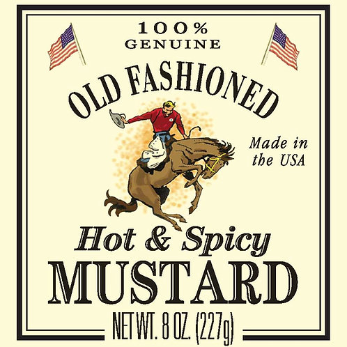Shemp's Hot & Spicy Mustard