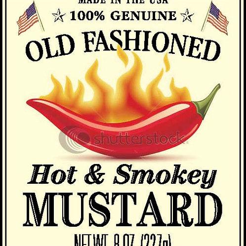Shemp's Hot & Smokey Mustard