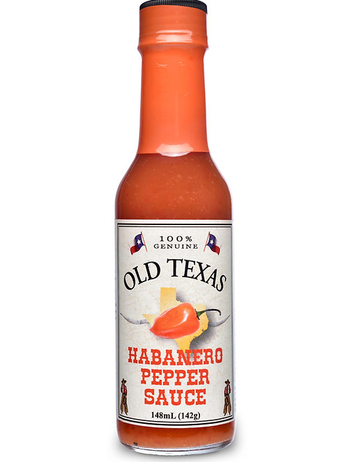 Old Texas Habanero Pepper Sauce