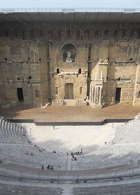 theatre antique orange, theatre romain, theatre antique, choregies