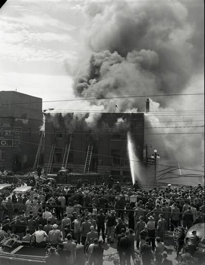1954-06-07 Walkers Garment plant York St.