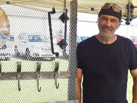 Kemptville Blacksmith retired from battling flames embraces the art of creating with fire