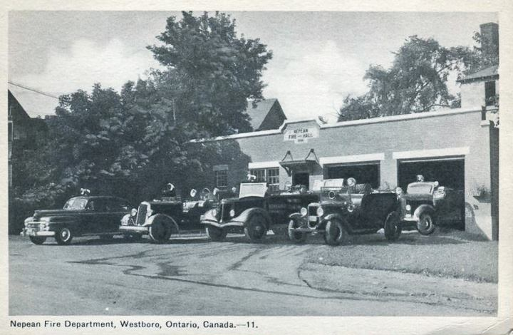 Nepean Fire Station late 1940 s