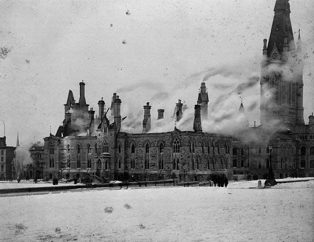 West Block Fire Feb. 11, 1897