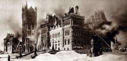 parliament hill fire
