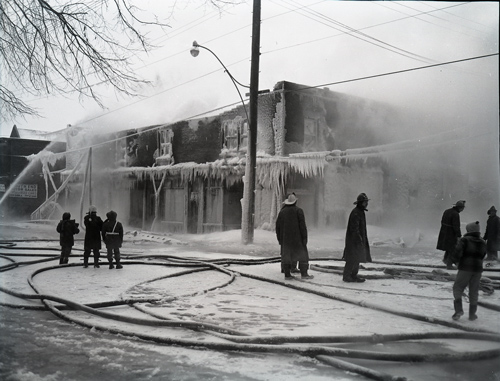 Bank St Fire Jan 16 1957