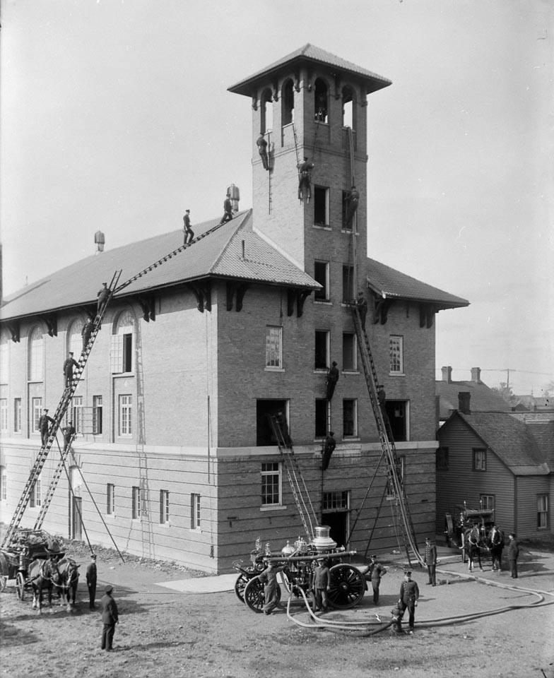 No 4 station York st 1914