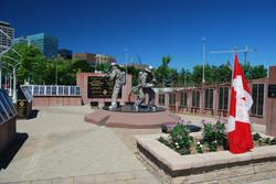 Memorial site July 2016