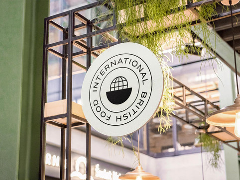 (Coming Soon) International British Food  Branding