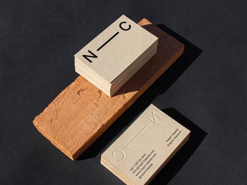 Studio Business Cards Branding