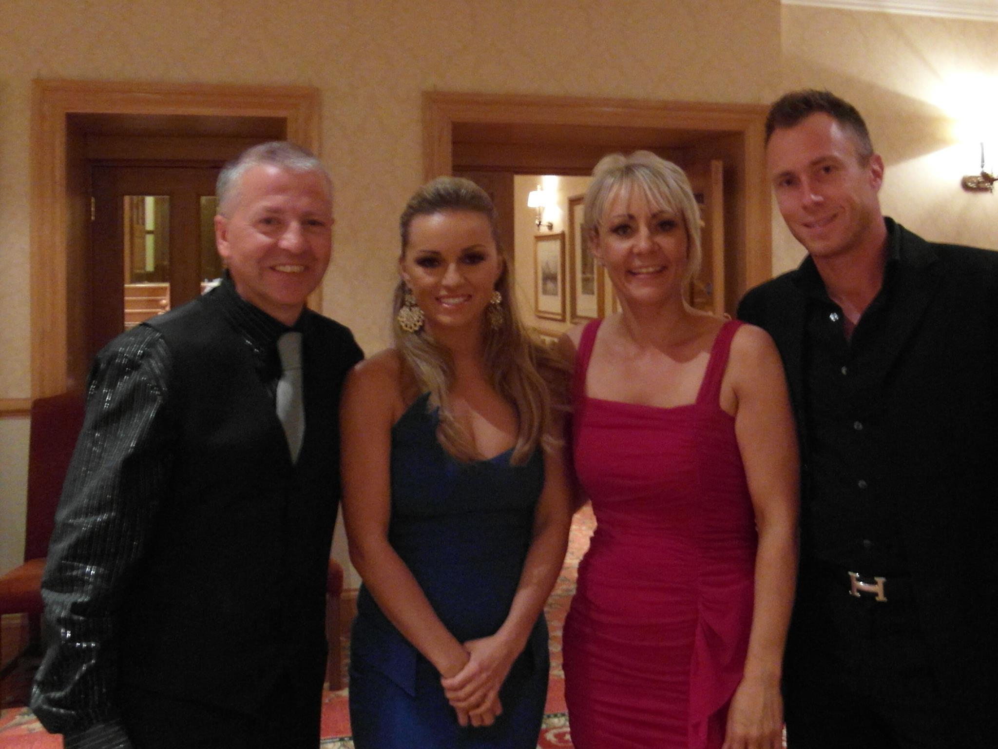 Gary, Ola, Fiona & James