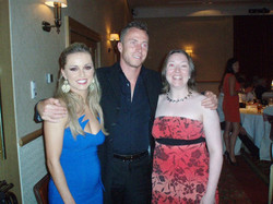 James & Ola Jordan with Anne