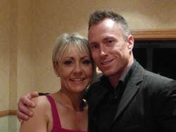 James Jordan with Fiona