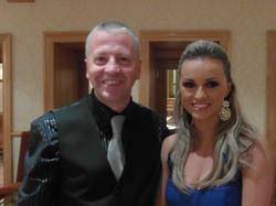 Ola Jordan with Gary