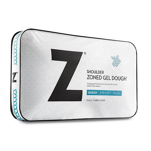 Shoulder Zoned Gel Dough® Queen Pillow