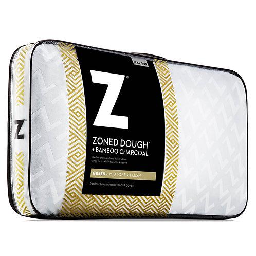 Zoned Dough® + Bamboo Charcoal Queen Pillow