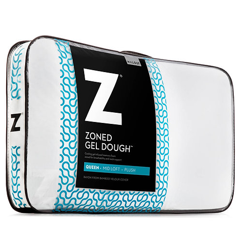 Zoned Gel Dough® Queen Pillow