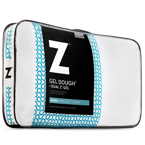 Gel Dough®+ Dual Z™Gel King Pillow