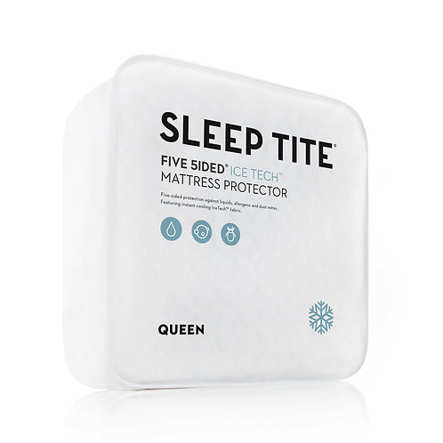 Ice Tech Mattress Protector, Keeps You Cool While Protecting Your Mattress