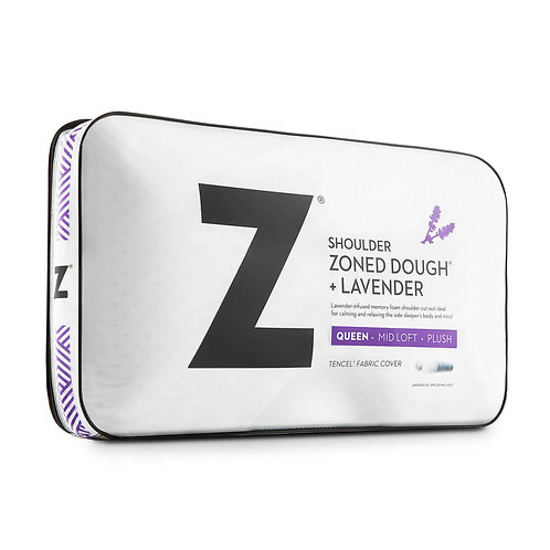 Z™ Shoulder Zoned Dough® + Lavender Queen Pillow