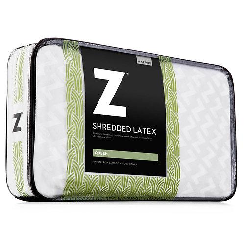 Shredded Latex Queen Pillow
