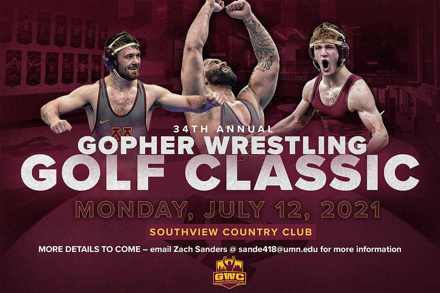 Gopher Wrestling Golf Classic Save the D