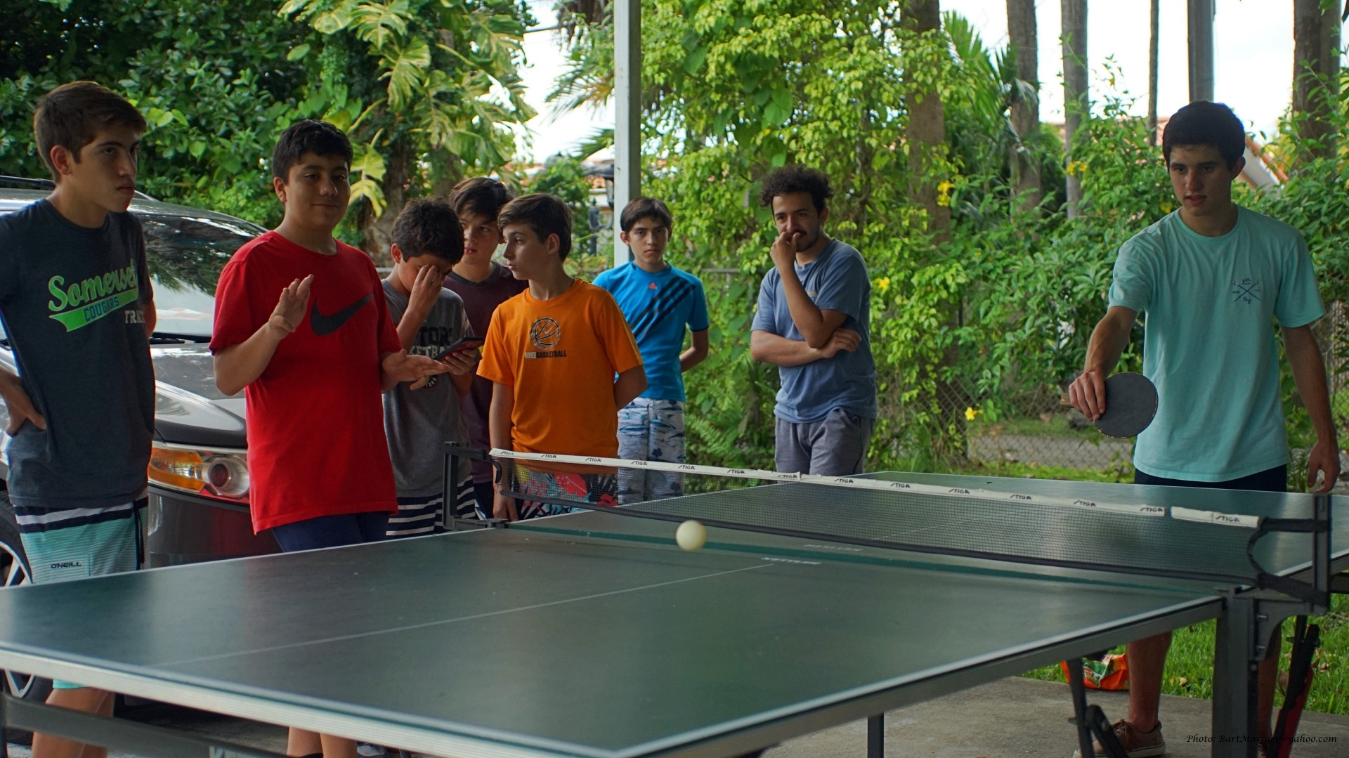And Ping-Pong is all about Speed