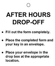 After Hours Drop-Off