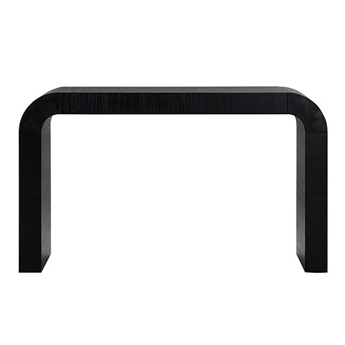 Farrah Black Console Table