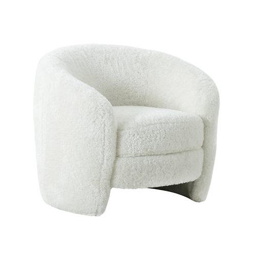 Aphrodite Faux Shearling Armchair