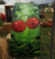 Street art, graffiti, krishna malla, tech moon, film 4, the festival, tomatoes,