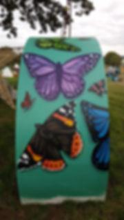 Street art, graffiti, krishna malla, tech moon, film 4, the festival, butterfly