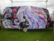 street art, graffiti, mural, krishna malla, tech moon, london, bournemouth, inkie, bbc, hackney weekend, caravan,