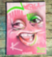 street art, graffiti, mural, krishna malla, tech moon, canvas, london, bournemouth, character,