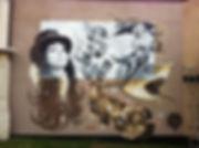 street art, graffiti, mural, krishna malla, tech moon, london, bournemouth, boomtown, lewis sutherland, roma,