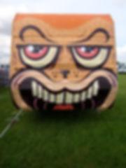 street art, graffiti, mural, krishna malla, tech moon, london, bournemouth, bbc, hackney weekend, roma, caravan,